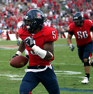 Antoine Cason and the Arizona Wildcats look to upset the California Golden Bears again.