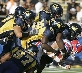 California Golden Bears defeat Louisiana Tech Bulldogs