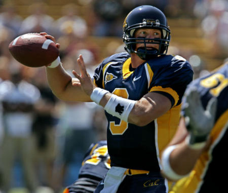 Nate Longshore hopes to lead Cal against the CSU Rams