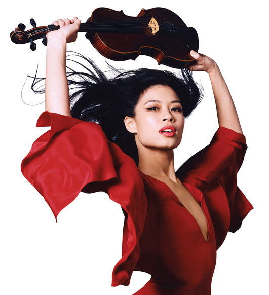 Vanessa Mae is gorgeous and musically inclined